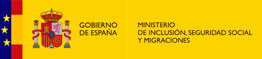 Spanish Coat of Arms and the Ministry of Inclusion, Social Security and Migration logo with a link to its website. Link opens in a new window.